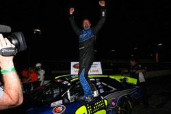 Greg Pursley wins NASCAR K&N Pro Series West Race at Irwindale