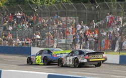 Pursley's Evergreen 200 win is his sixth K&N Pro Series West race win of the season and the ninth of his career.