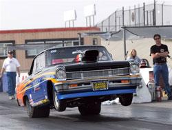 NHRA Super Street Racer Greg Ventura