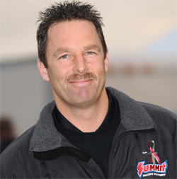 Greg Anderson, no. 1 qualifying position in the 2009 K&N Horsepower Challenge