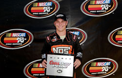 Kevin Swindell won the pole and led the first 128 laps of the race.
