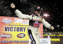 Ty Dillon won the first NASCAR K&N Pro Series East race of his career at Gresham Motorsports Park in Georgia