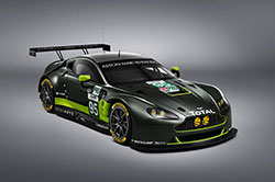 Vantage GTE is a version of the V8 Vantage road car and retains the same aluminum chassis, the core of the engine, cylinder block, cylinder heads and crankshaft of the road model.