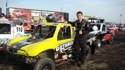 Modified Kart Racer Mitch Guthrie Jr.
