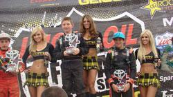 Mitch Guthrie Jr. is no stranger to the podium in 2011