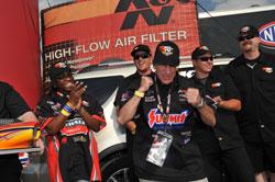 Harold Goldberg wins the 2011 K&N Horsepower Challenge Sweepstakes
