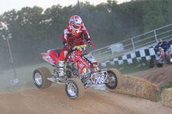 ATV Racer Harold Goodman in Action