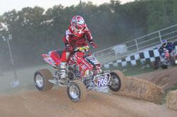ATV Racer Harold Goodman in Action