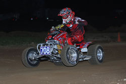 Harold Goodman went four-for-four in the Pro-Lites Class of the AMA/ATVA Extreme Dirt Track National ATV Series