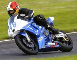 Richie Harrison on 2007 Yamaha Superstock Spec motorcycle