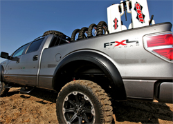 Racing support truck will hit the desert at the Baja 500 in 2010