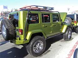 Burnsville Offroad had six Jeeps with Hemi installations at SEMA 2007