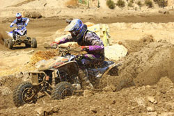 David Haagsma went 1-1 at the final round of the Yamaha Quad-X Racing Series to win the overall.