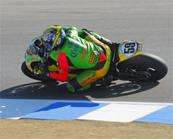 AMA American Superbike Series at Laguna Seca a series of ups and downs for riders