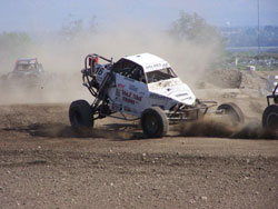 K&N sponsored John Holmes won both his races in round five of the Lucas Oil Regional Off-Road Series.