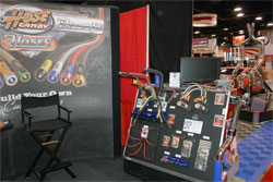 SEMA 2011 featured Hose Candy booth.