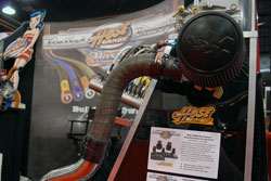 Hose Candy using K&N Air Filter at the 2011 SEMA Show