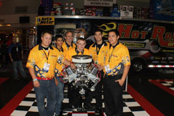 Team Auto Meter, Loara High School, Anaheim, CA. Each member of Team Auto Meter received $30,000 in scholarship money from supporting automotive schools for getting first place in 2010.