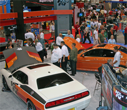 More than 120,000 enthusiasts from around the globe attended SEMA in Las Vegas, Nevada for a chance to see the best of the automotive world