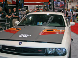 Mattel Hot Wheels designer said K&N 2009 Dodge Challenger was one of the signature cars at SEMA
