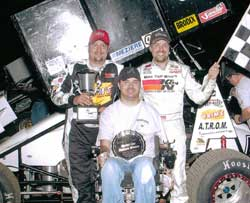 (Left to Right) Jan, Josh & Dale Howard