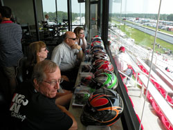 Last Year Sweepstakes Contestants wait to see who will win the NHRA K&N Horsepower Challenge