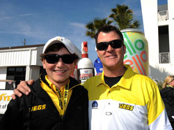 Jeg Coughlin won the K&N Horsepower Challenge fan vote and will face Johnson in round one of the challenge.