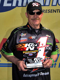 Pro Stock's Mike Edwards awarded K&N Horsepower Challenge # 1 Qualifier