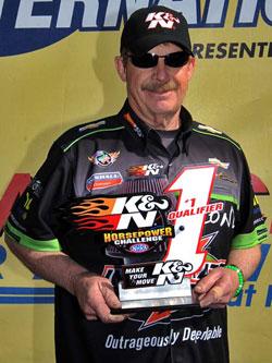 Pro Stock's Mike Edwards awarded K&N Horsepower Challenge # 1 Qualifier