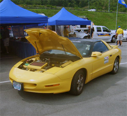1994 Pontiac Firebird with K&N products on the 2009 Hot Rod Power Tour