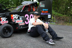 Hunter Smith has a win, a pole, three top 5's and six top 10's in just eight starts running a limited schedule in the Slingshot by Tobias National Series and full time at Borger's Speedway in Saylorsburg, Pennsylvania.
