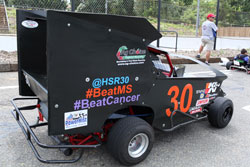On August 18th, Hunter Smith had his car on display at Sussex County Community College in Hampton, New Jersey, signing autographs and teaching new fans about the sport he loves.