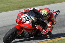 Pro Daytona SportBike rider Huntley Nash has made a strong comeback from last years injury