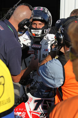 The 18-year-old K&N sponsored racer may as well get used to doing interviews - the young hot-gun will no doubt be doing plenty of them.