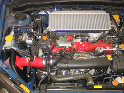 K&N Cold Air Intake Installed on 2008 Subaru Impreza WRX STi 2.5L