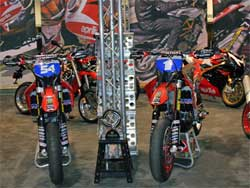 Factory Aprilia Rip It Engergy Fuel Racing Team uses K&N products