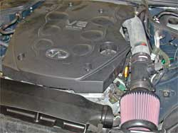 Air Intake Installed in 2003 Infiniti G35