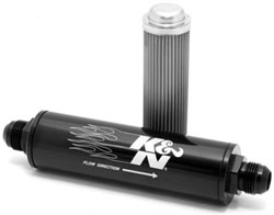 K&N Inline Fuel/Oil Filters