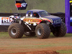 The Instigator is a powerful monster truck that pushes 1500 horsepower