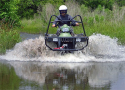 ATV courses at the school offer all aspects of riding up to very advanced levels