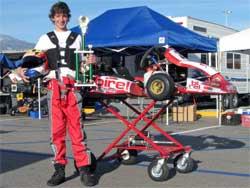 Jacob Pearlman takes 2nd at Moran Raceway