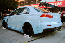 Mitsubishi Lancer Evolution X at the 2012 SEMA show