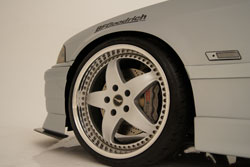 James Lin's BMW E36 328IS Sports Custom Wheels and Tires