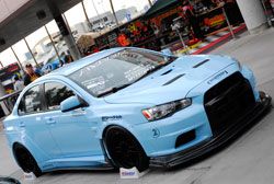 SEMA featured 2008 Mitsubishi Evo X