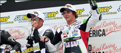 The K&N sponsored 2011 AMA Pro SuperSport East Champion only missed the podium in one race last season.