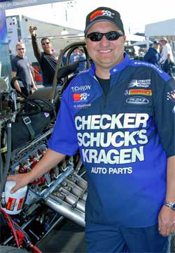 Jeff Arend uses K&N Premium Performance Gold Oil Filters
