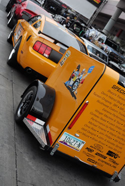 Ford GT mustang at SEMA started out as a project for the Hot Rod Power Tour