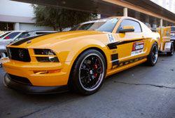 Jarrod Holly featured his 2007 Mustang GT at SEMA show 2012