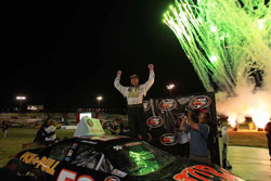 Jason Fensler Wins K&N Pro Series race at All-American Speedway in Roseville, CA