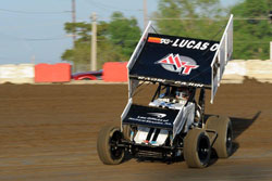 The Jason Johnson Racing team's primary focus is capturing the ASCS National Championship. Photo by Timothy Passmore.